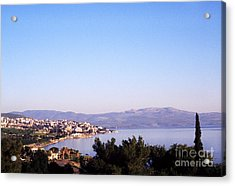 Tiberias Sea Of Galilee Israel Acrylic Print by Thomas R Fletcher