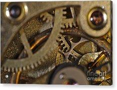 Tic Tac Wheels Acrylic Print by Angelo DeVal
