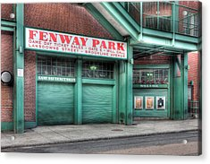 Ticket Windows Acrylic Print by Clarence Holmes