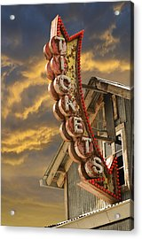 Acrylic Print featuring the photograph Tickets  by Laura Fasulo