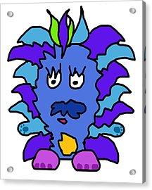 Tickle Monster Acrylic Print by Jera Sky