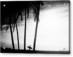 Ticla Palms Acrylic Print