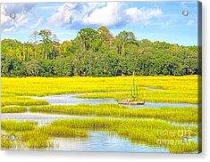 Tidal Castaway Acrylic Print