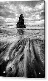 Acrylic Print featuring the photograph Tidal Dance by Mike Lang