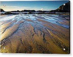 Tidal Patterns Acrylic Print