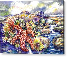 Tidal Pool I Acrylic Print