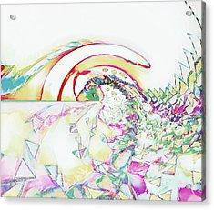Tidal Wave Acrylic Print
