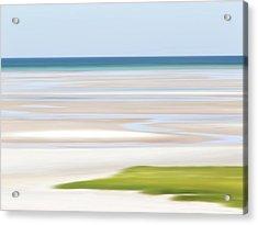 Tide Lines Acrylic Print