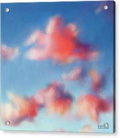 Tiepolo Clouds Acrylic Print