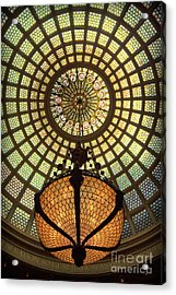 Tiffany Ceiling In The Chicago Cultural Center Acrylic Print