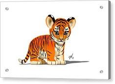 Tiger Cub Acrylic Print