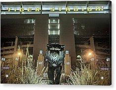 Tiger Stadium On Saturday Night Acrylic Print