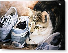 Tigger With Sneakers Acrylic Print