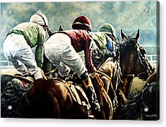 Tight Quarters Acrylic Print by Thomas Allen Pauly