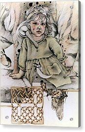 Tihe Mauriora Acrylic Print