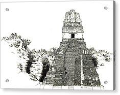 Tikal Temple I Acrylic Print