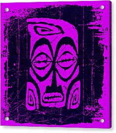 Tiki Taboo Acrylic Print