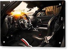 Tikt Chevrolet Corvette C6 Zr1 Tripple X 3  Acrylic Print