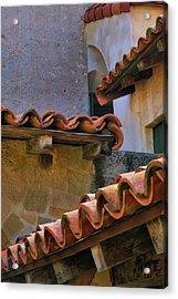 Tiles And Textures Acrylic Print