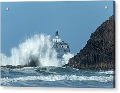 Tillamook Rock Light House, Oregon - Terrible Tilly Acrylic Print