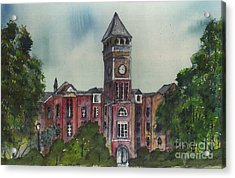 Tillman Hall One Clemson Acrylic Print by Patrick Grills