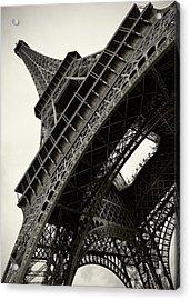 Tilted Eiffel Acrylic Print by Stefan Nielsen