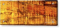 Timber Framed Joints Acrylic Print