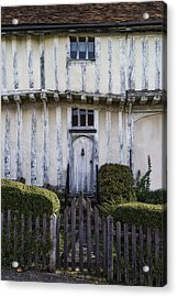 Timbered Cottage Acrylic Print