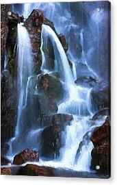 Timberline Falls Acrylic Print