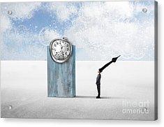 Time  Acrylic Print by Aimelle ML
