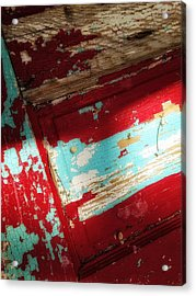 Acrylic Print featuring the photograph Time At The Door by Olivier Calas