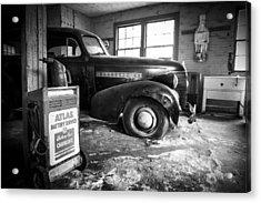 Old Car - Blue Ridge Mountains Acrylic Print