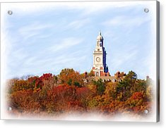 Time For Fall Acrylic Print by Jim  Darnall