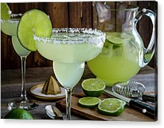 Acrylic Print featuring the photograph Time For Margaritas by Teri Virbickis