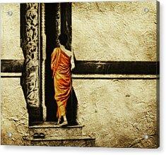Time For Prayer Acrylic Print