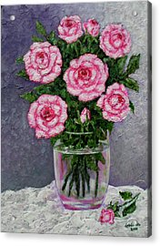 Time For Roses Acrylic Print