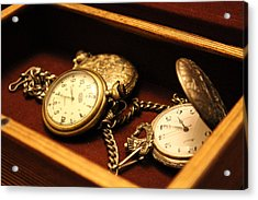 Time In A Box Acrylic Print