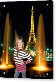 Time In Paris Acrylic Print