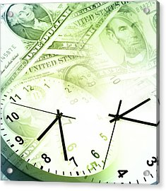 Time Is Money  Acrylic Print