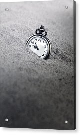 Time Is Running Acrylic Print
