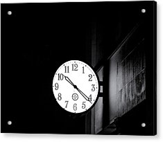 Time Is Slipping Away Acrylic Print
