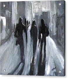 Time Of Long Shadows Acrylic Print
