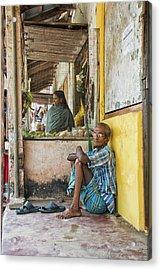 Kumarakom Acrylic Print by Marion Galt