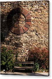 Time Passes Acrylic Print by Rae Tucker