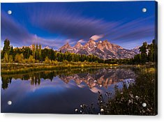 Time Stops Over Tetons Acrylic Print