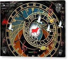 Time Stops Acrylic Print