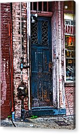 Time Tested Acrylic Print by Christopher Holmes