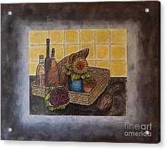 Time To Cook Acrylic Print