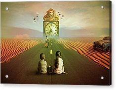 Acrylic Print featuring the digital art Time To Grow Up by Nathan Wright