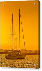 Time To Sail Acrylic Print by Marvin Spates